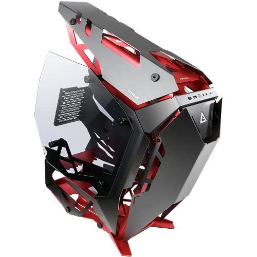 Antec Torque computer case Midi-Tower Nero, Rosso