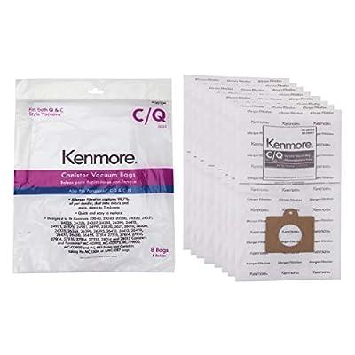 Other 50104 Kenmore Vacuum Bag, Type C and Q, 8-Pack Genuine Original Equipment Manufacturer (OEM) Part
