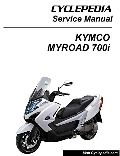 KYMCO MYROAD700i Scooter Online Service Manual (English Edition)