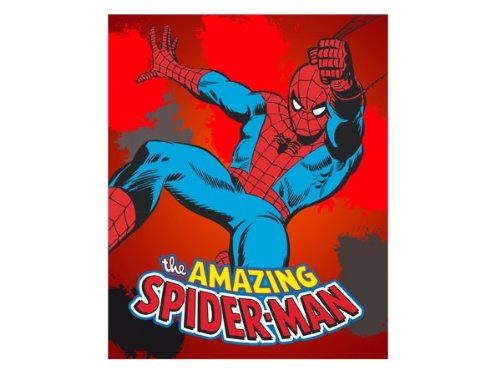 Spiderman Tagesdecke,Kinder Decke Fleecedecke