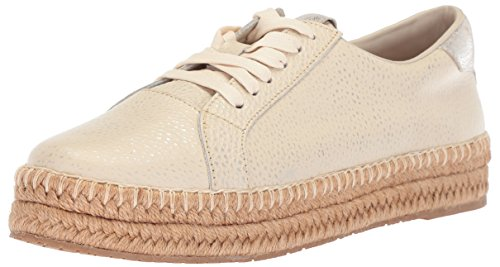 KAANAS Damen Arizona Leather Espadrille Sneaker Turnschuh, elfenbeinfarben, 40 EU