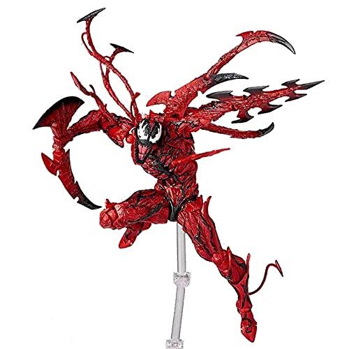 XWLMAOY Figura Compleja Amazing Yamaguchi Carnage Alrededor De 160 Mm PVC Figura De Acción Pintada (Tamaño : 16cm)