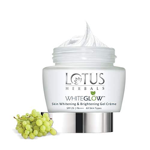 Lotus Herbals Whiteglow Skin Whitening And Brightening Gel Cream | SPF 25 | 60g