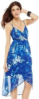 Apt. 9 Women's Tie-Dyed Empire Maxi Dress, Blue, Small