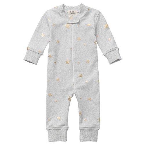 Product Image of the Owlivia Organic Cotton Baby Boy Girl Zip up Sleep N Play, Footless, Long Sleeve...