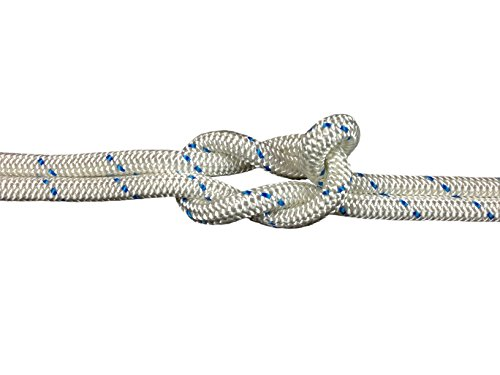 Schot-Tauwerk-Allroundleine 10mm Kennung blau 25m Schot,Seil,Tau,Tauwerk,Festmacher,Ankerleine