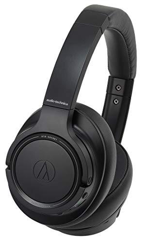 audio-technicaワイヤレスヘッドホンBluetoothマイク付きノイズキャンセリング密閉型ブラックATH-SR50BTBK