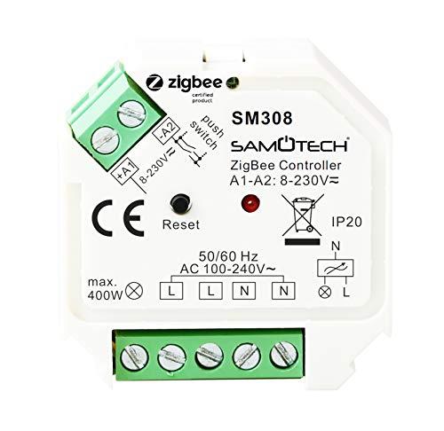 SAMOTECH Smart Home Zigbee Intelligente Sensoren (Zigbee-Schaltaktor)
