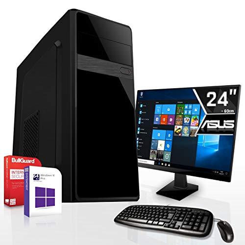 Komplett PC-Paket Set • AMD FX-9830 4X3.0GHz • 8GB DDR4 • 512GB M.2 SSD und 1TB •HD DirectX12 • WLAN • USB 3.1• Win10 • 24 Zoll LED TFT Monitor • Computer