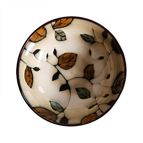 LYQZ Bol en céramique Japonaise Bol de Ramen Bol de Soupe Bol de Riz Accueil Bol à Salade créative instantanée Bol de Nouilles Bol de Fruits
