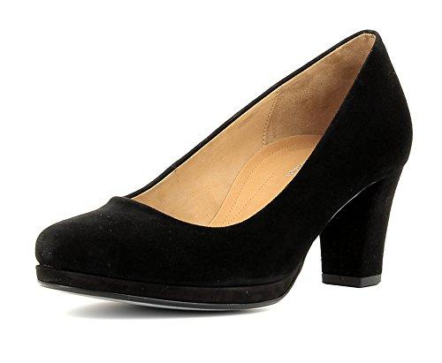 Gabor Shoes Damen Comfort Fashion Pumps, Schwarz (schwarz 47), 37.5