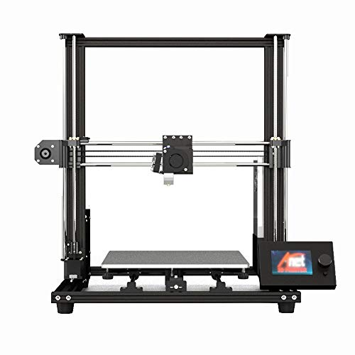 Belingeya-is Imprimante 3D DIY Stéréo Modèle Imprimante Bureau Grande Taille avec Rétroéclairage Bleu Imprimante Double Use pour PLA ABS, Métal, Noir, 61.2x46.2x57.2cm