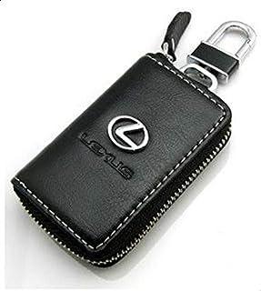 Lexus Car Logo Leather Key Remoto Bag Chain Keychain