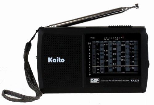 Kaito FM/AM KA321 10-Band Pocket-Size Shortwave Radio
