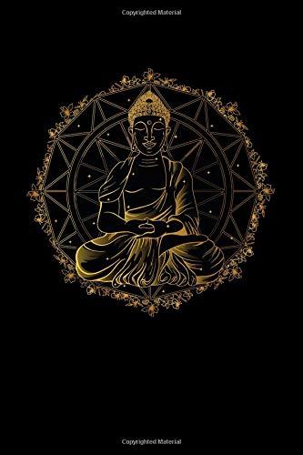 Buddha Mandala: 6x9 Lined Writing Notebook Journal, 120 Pages