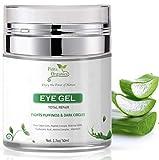 Eye Gel Cream Anti Wrinkle - Total Repair Eye Gel - Eye Depuffing Gel - Eye Gel Night Time & Day Time - Anti Wrinkle Eye Cream for Women - Eye Gel for Puffiness, Wrinkles, Dark Circles - 1.7oz / 50 ml