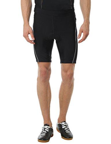 Ultrasport Bike Culote de Ciclismo, Hombre, Negro/Azul Victoria, M