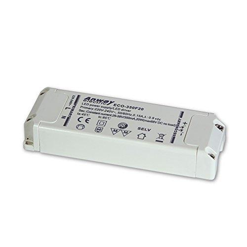 ANWAY LED Treiber ECO-350F20 20W/350mA/29-58V