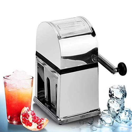 Manual Ice Crusher, Huis Kegel van de sneeuw Machine Fast Ice Breken met grote capaciteit ontwerp, Stainless Steel Design is eenvoudig te bedienen voor Huis