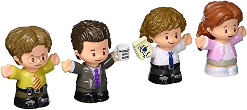 Fisher-Price Little People Collector The Office Figure Set  4 character figures from the American TV show in a giftable package for fans ages 1-101 years