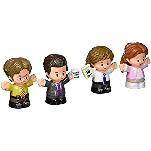 Fisher-Price Little People Collector The Office Figure Set, 4 character figures from the American TV show in a giftable… - 41lCpfvUBeL - Fisher-Price Little People Collector the Office Figure Set, 4 Character Figures from the American TV Show in a Giftable…