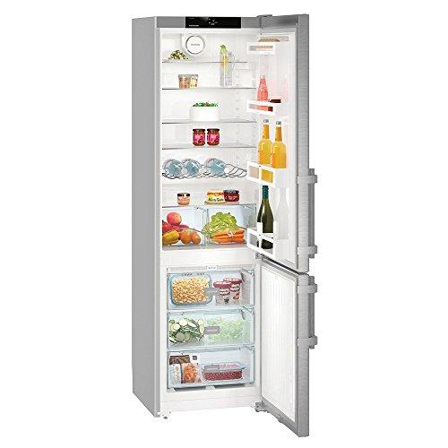 Liebherr cnef4015autonome 356L A + + Silber Kühlschränken–réfrigérateurs-congélateurs (356L, sn-t, 11kg/24h, A + +, neue Zone Bucket, silber)