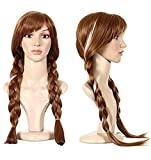 Fancydresswale Annan Cosplay Wig (Brown,3 Yrs to Adult)