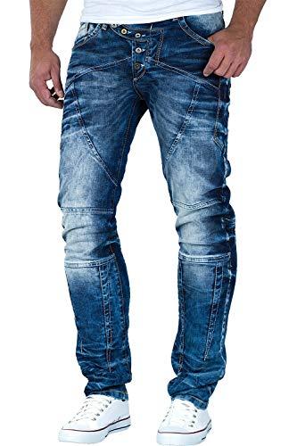 Cipo & Baxx Herren Jeans CD346 incl.TASCHE im Lieferumfang W31/L32, Blau