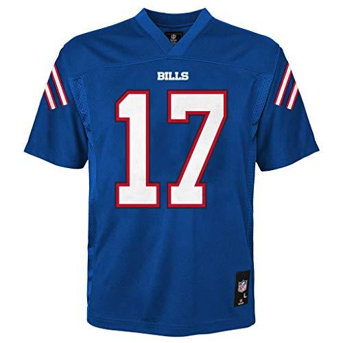 Josh Allen Buffalo Bills Blue #17 Kids 4-7 Home Mid Tier Jersey (5/6)