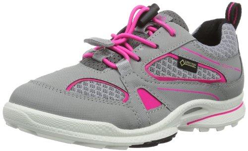 Ecco Biom Ultra K. Silv.G/Titanium/Pink N. S/ 704082 Jungen Sport- & Outdoor Schuhe, Grau (SILVER GREY/TITANIUM/PINK NEON 58354), EU 27