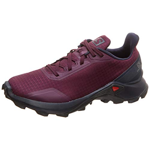 Salomon Alphacross W, Zapatillas de Trail Running Mujer, Morado (Potent Purple/Navy Blazer/India Ink), 38 EU