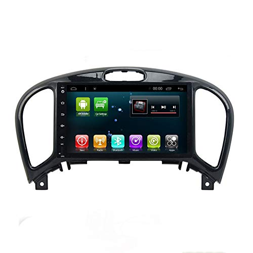 Android 8.1 IPS Car Radio GPS Stereo Navi for Nissan Juke Head Unit In Dash Multimedia Video Player with Bluetooth WiFi BT Navigation (Nissan Juke Android 8.1 1+16G)