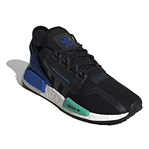 adidas Mens RI V2 Running Sneaker, Core Black/Core Black/Cloud White, 10 US