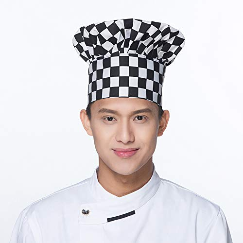Kocome Colourfull Pirates Chef Cap Skull Cap Professional Catering Various Chef Hat