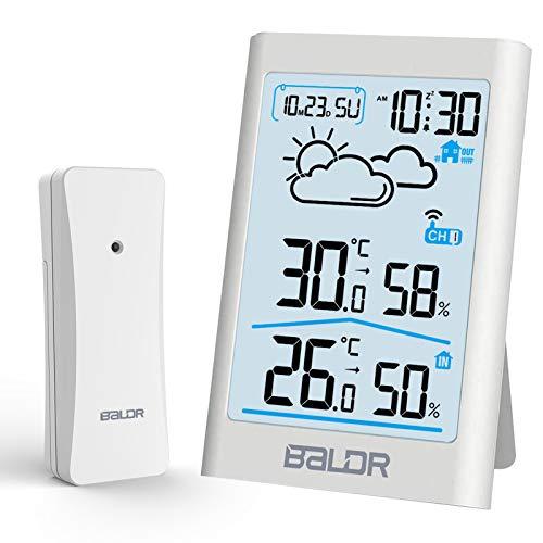Estación Meteorológica Reloj marca BALDR