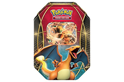 Pokemon TCG: Best of EX Containing 4 Booster Packs and Featuring A Foil Charizard-EX Collector Tin