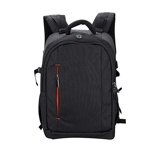Mugast Camera Rugzak, Professionele tas met rug ademend gaas, 5-in-1 reinigingsset, regenhoes, draagbare rugzak voor camera,4 lens, flitser en ga zo maar door, voor 15.6 inch laptop, L