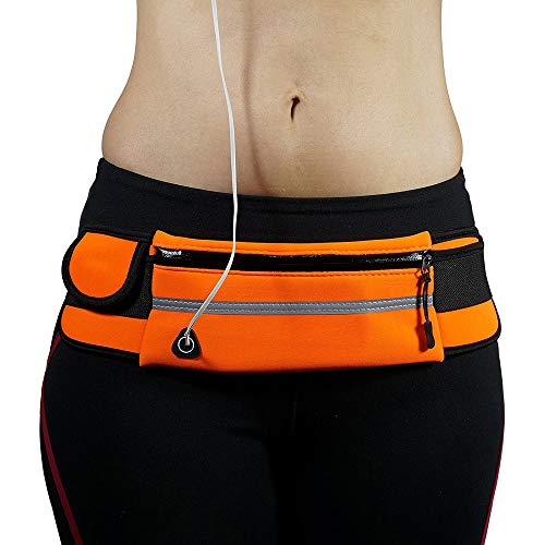 RUNYN Outdoor Sport Hürteltasche Wasserdichte Mobiltelefone Tasche Schulter Diagonal Tasche pour Fitness-Laufen