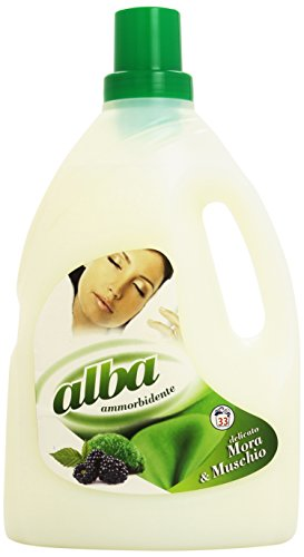 Alba Delicato wasverzachter met geur van Mora en muskus, 2,5 l