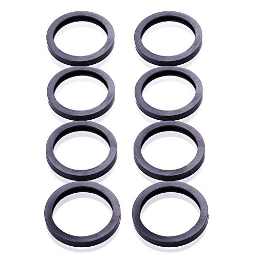 ORANDESIGNE 8PCS Gas Can Spout Rubber Gasket Seal Replacement kit Compatible for Gott Essence Wedco Briggs & Stratton Scepter Moeller Eagle Midwest Most of Plastic Gas Can(8)