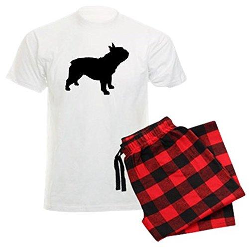 CafePress French Bulldog Unisex Novelty Cotton Pajama Set, Comfortable PJ Sleepwear