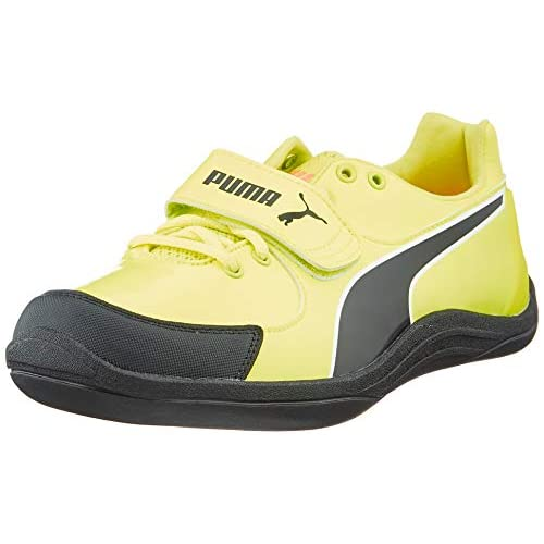 PUMA Evospeed Throw 6, Scarpe da Atletica Leggera Unisex-Adulto, Giallo (Fizzy Yellow Black), 46 EU