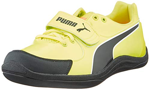 PUMA Unisex-Erwachsene Evospeed Throw 6 Sneaker, Gelb (Fizzy Yellow Black), 43 EU