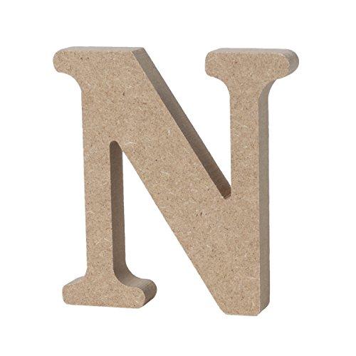WINOMO Lettere in legno dell'alfabeto grandi targhe numeriche accoglienti decorazione di matrimonio