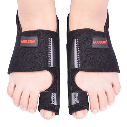 Bunion Corrector, Bunion Splint, Big Toe Bunion Corrector, Big Toe Straightener, Bunion Corrector and Bunion Relief, Orthopedic Bunion Splint Corrector for Hallux Valgus Pain Relief Fits Men and Women