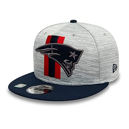 New Era NFL NEW ENGLAND PATRIOTS 2021 Training Camp 9FIFTY Snapback Cap, Größe:M/L