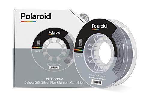 Polaroid filament 250 g universal deluxe silk PLA filament silver