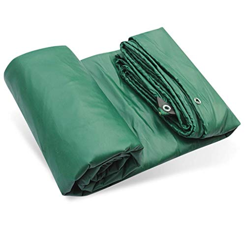 Tarpaulin Bâche Ff Imperméable, Bâches de Tente Bâche En Tissu Antipluie Robuste Trois Anti-Tissu Pvc Tissu Auvent Tissu Bâche de Voiture Bâche Enduite Bâche Toile 500G / M2,5 * 7M