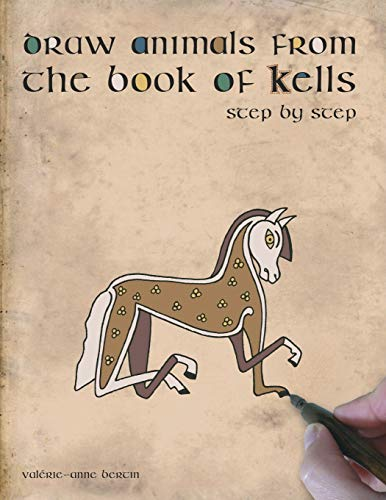 Draw animals from the book of Kells: Step by step
