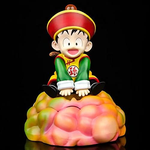 Anime Dragon Ball Z Figuras De Acción De Anime Son Gohan Cloud Juguetes Lindos PVC Super Saiyan Bwfc Goku Gohan Figma Modelo Muñeca Colección Infantil Regalo 16Cm